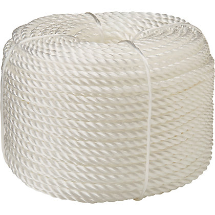 Image for Polypropylene Rope - White - 50m x 4mm from StoreName