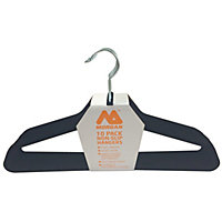 Morgan Velvet Clothes Hangers - 10 Pack