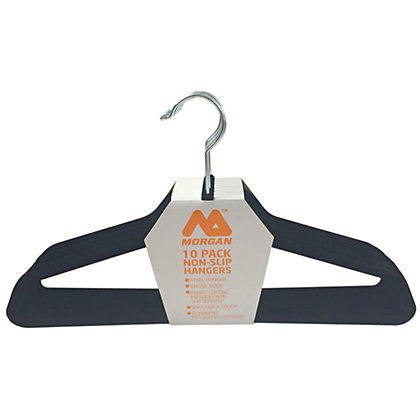 Image for Velvet Clothes Hangers - 10 Pack from StoreName