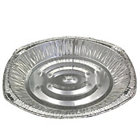Oval Foil Trays - 3 Pack