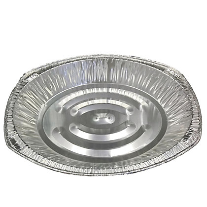 Image for Large Oval BBQ Foil Trays - 3 Pack from StoreName