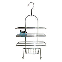 3 Tier Shower Caddy with Hook