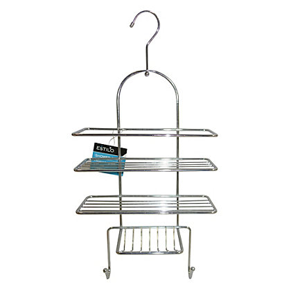 Image for 3 Tier Shower Caddy with Hook from StoreName