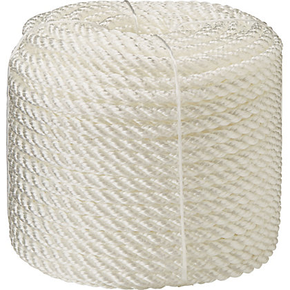 Image for Polypropylene Rope - White - 50m x 7mm from StoreName