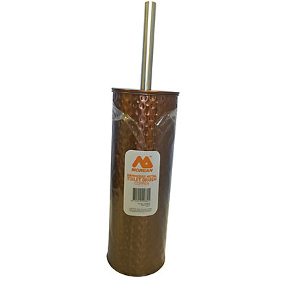 Image for Hammered Metal Toilet Brush - Copper from StoreName