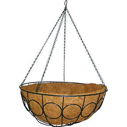 Image for Hanging Basket with Coconut Lining - 50cm from StoreName
