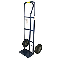 P-Handle Trolley with Pneumatic Tyres - 250kg