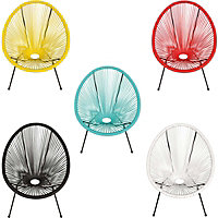 Acapulco Wicker Garden Chair (Available in 5 Colours)