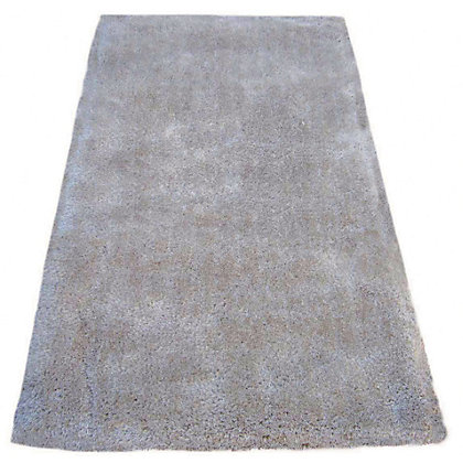 Image for Luer Shaggy Rug - Light Beige - 150 x 80cm from StoreName