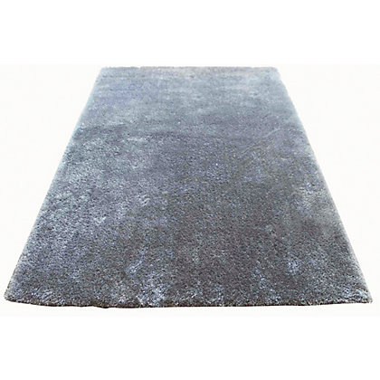 Image for Luer Shaggy Rug - Grey - 230 x 160cm from StoreName