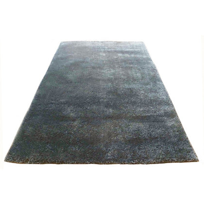 Image for Luer Shaggy Rug 230 x 160cm - Dark Grey from StoreName