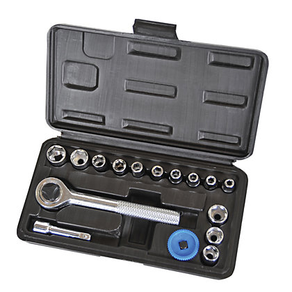 Image for Supatool Socket Set 1/4in Square Drive - 16 Piece from StoreName