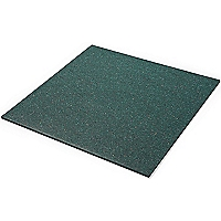 Outdoor Play Rubber Paver in Green - 100mm