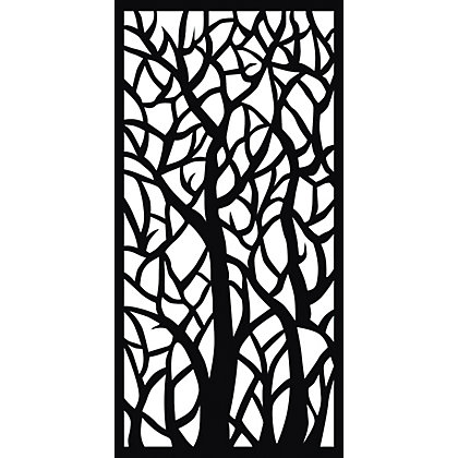Image for Matrix Plastic Decor Screen - Woodland from StoreName