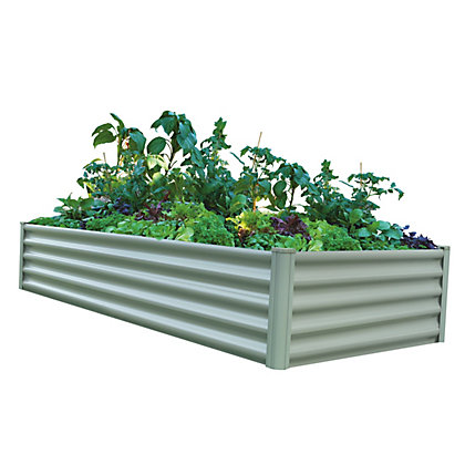 Image for The Organic Garden Co Rectangle Raised Garden Bed  - Green from StoreName