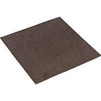 Alpine Carpet Tiles - Dark Brown - 50 x 50cm