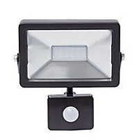 20W Slimline Integrated LED Floodlight With PIR