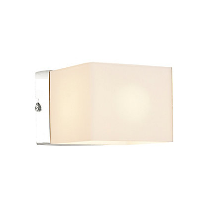 Image for Hoskinson Cube Bathroom Wall Light from StoreName