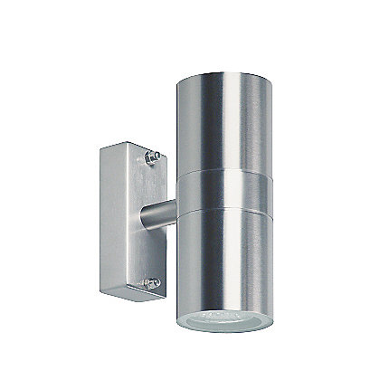 Image for Hubbard Stainless Steel Up/Down Wall Light from StoreName