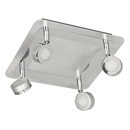 Image for Harrison LED 4 Bar Bathroom Ceiling Light from StoreName