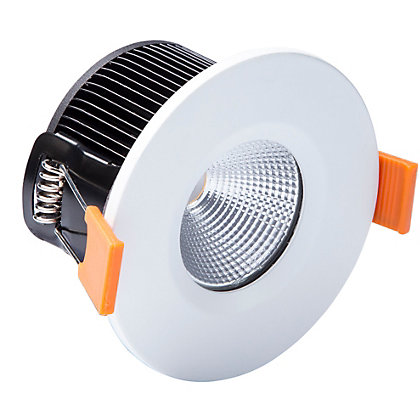 Image for LED Single Fire Rated Downlight - White from StoreName