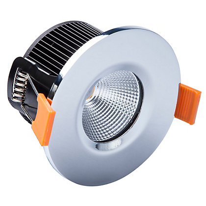 Image for LED Single Fire Rated Downlight - Chrome from StoreName