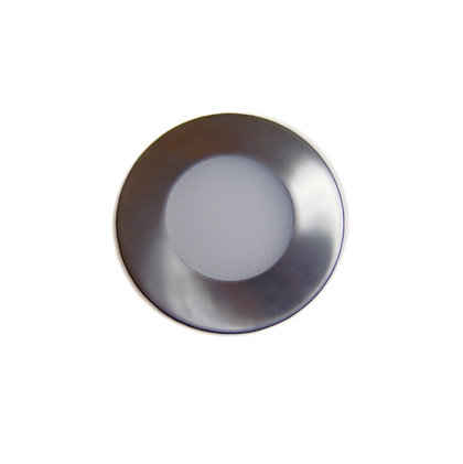 Image for Integrated LED Fixed Brushed Chrome Downlights - 3 pack from StoreName