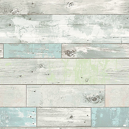 Image for Nu Peel & Stick Wallpaper Beachwood from StoreName