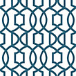 Nu Peel & Stick Wallpaper Grand Trellis Navy