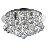 Hollands Decorative Flush Bathroom Light