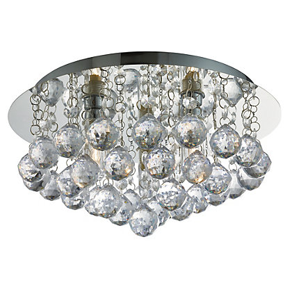 Image for Hollands Decorative Flush Bathroom Light from StoreName