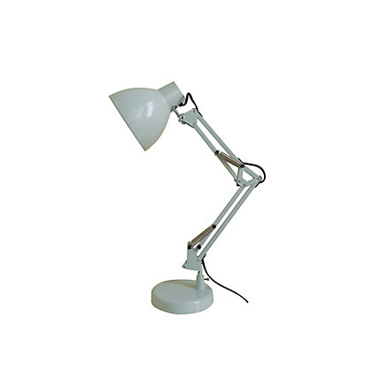 Image for White Angled Desk Lamp from StoreName