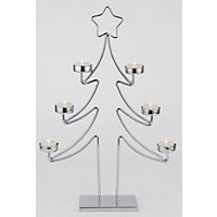 Metal Christmas Tree Tealight Holder