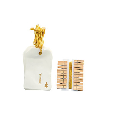 Image for Golden Envelope and Peg Set from StoreName