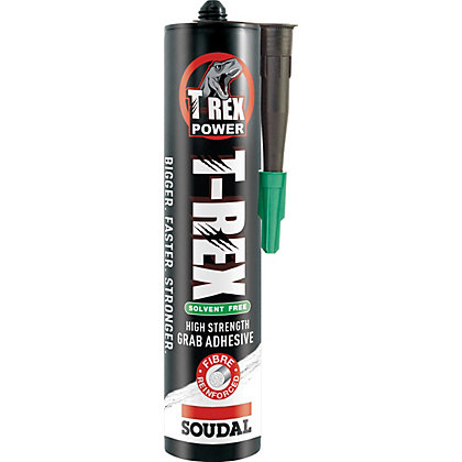 Image for Soudal T-Rex Solvent Based Grab Adhesive - 310ml from StoreName