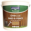 Johnstones OneCoat Shed and Fence Woodcare Golden Chestnut - 9L