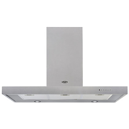 Image for Belling 444443460 DB Flat Hood - 110cm - Stainless steel from StoreName