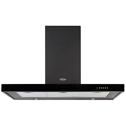Image for Belling 444443457 DB Flat Hood - 110cm - Black from StoreName