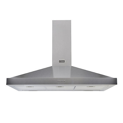 Image for Stoves S900 Sterling Chimney Hood  - 90cm -Stainless Steel from StoreName