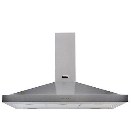 Image for Stoves Sterling 1000 Chimney Hood  - 100cm -Stainless Steel from StoreName