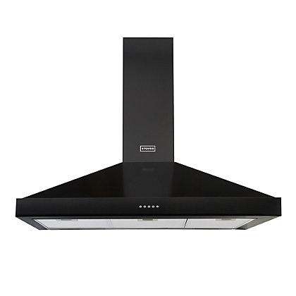 Image for Stoves Richmond 900 Chimney Cooker Hood  - 90cm - Black from StoreName