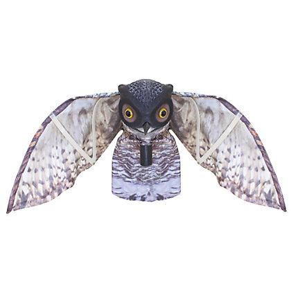 Image for Prowling Owl Plastic Garden Ornament from StoreName