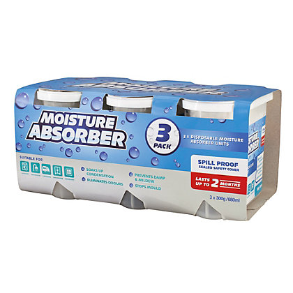 Image for Moisture Absorber 300G - 3 pack from StoreName