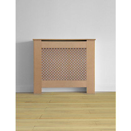 Image for Oxford MDF Radiator Cabinet - Small - (W)78 x (H)81.5 x (D)19cm from StoreName