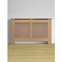 Oxford MDF Radiator Cabinet - Large - (W)150 x (H)81.5 x (D)19cm