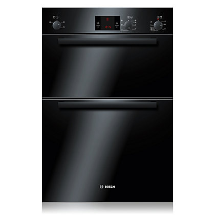Image for Bosch HBM13B261B Built-in Double Oven - Black from StoreName