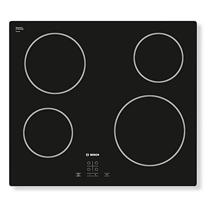 Image for Bosch PKE611D17E Ceramic Hob - Black from StoreName