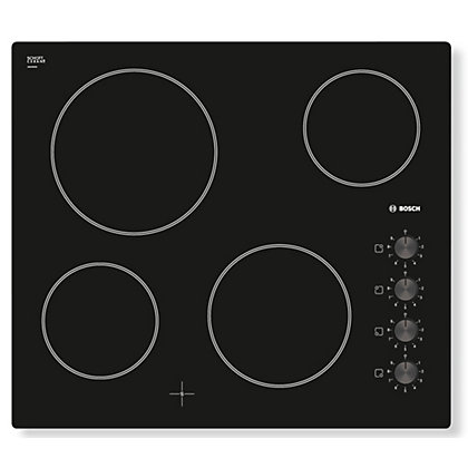 Image for Bosch PKE611C17E Ceramic Hob - Black from StoreName