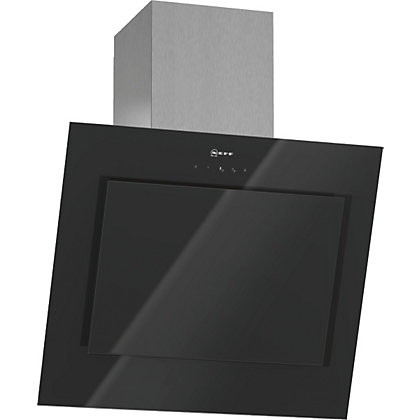Image for Neff D363E49S0GB Inclined Chimney Hood - Stainless Steel with Glass Canopy - 60cm Wide from StoreName