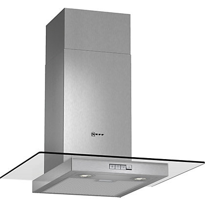 Image for Neff D86ER22N0B Flat Chimney Hood - 60cm - Stainlees Steel from StoreName
